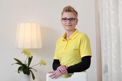 Ina Küster Büromitarbeiterin Ambulanter Pflegedienst Milwald